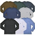 Polo Ralph Lauren Mens Crew Neck Classic Fit Long Sleeve Pocket Tee T-shirt New image