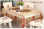 Luxury Handmade Embroidery Lace Tablecloth