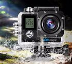 XANES K1 4K WiFi Sports Camera 1080P 2.0 LCD HD 30m Sports DV Helmet Cam 30m Wat