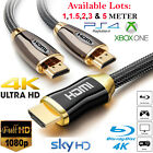 HDMI 4K Cable v2.0 High Speed Premium Video Lead 3D Ultra HD 2160P 1M 1.5M 3M 5M