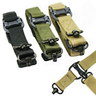 Tactical Quick Detach 1 / 2 Point 1.2' Rifle Sling Nylon + Keymod Swivel Mounts