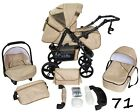 Baby Pram Pushchair Buggy Stroller Carrycot Car Seat TWI 3in1 Travel System SALE