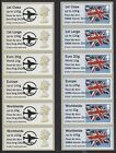 Fleet Air Arm Cold War to Kabul Post & Go Machin and Flag Collector Strips