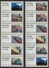 Stampex Spring 2017 Mail Rail Kiosks A013 and A014 Collector Strips