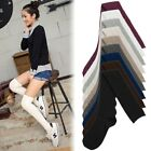 Fashion Women Girls Knit Sock Cotton Over Knee Thigh Stockings High Socks Tights