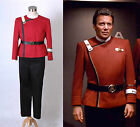 Star Trek II-VI Wrath of Khan Starfleet Cosplay Costume Captain