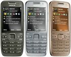 "Original Nokia E52 Bar Style Cellphone 2.4"" 3G WIFI GPS Bluetooth Long Stand-by"
