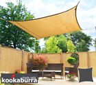 Garden Outdoor Sand Colour Breathable Party shade Sail (Knitted 185g)