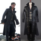 Once Upon A Time Captain Hook Killian Jones Cosplay Attire Suit Outfit Cos