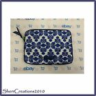 NWT Vera Bradley E-Reader Sleeve Small Tablet Case Quilted Cotton Zip Cover Bag