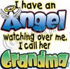 grandma is angel kid t shirt one piece baby shower gift birthday US size new x