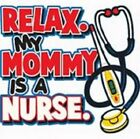 mommy is nurse t shirt one piece kid toddler baby shower gift birthday US sz x