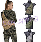 Small Tactical Molle Utility Gear Shoulder Sling Bag Camping Hiking Backpack