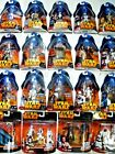 STAR WARS ROTS CARDED FIGURES 2005  - MOC - SEE PHOTOS!