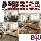 New Modern Patio Sofa for Living Room and 3 Seats Cushion Back MULTIPLE COLOR