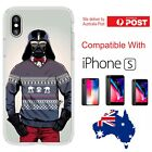 iPhone Silicone Cover Star Wars Darth Vader Evil Sweater Cartoon - Customlads $14.95 AUD
