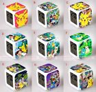 Cute Pokemon LED 7 Color Changing Digital Alarm Clock Night Light Toy Gifts New