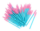 Pink Teal Tower Or Heart Shape Mascara Wand Brushes Disposable Eyelash Extension $12.54 USD on eBay