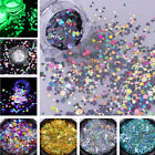 Nail Glitter Sequins Holographic Fluorescent Various Nail Art 3D Decoration DIY $0.74 USD on eBay