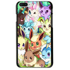 Pokemon Go Eevee Collection Soft TPU Case For iPhone 5S 7 Plus 8 6S X Xs Max Xr