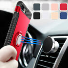 Shockproof Hard Case Cover with Magnetic Ring Stand For Apple iPhone SE 5s 5