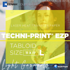 """TECHNI-PRINT HS Heat Transfer Paper For Hard Surfaces 11"""" x 17"""""""