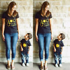 USA Family Outfits Clothes Mother Daughter Kids Matching T-s
