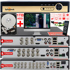 4/8/16 Channel CCTV DVR NVR HDMI AHD H.264 Digital 1080P Video Recorder System