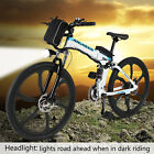 "Electric Mountain Bike LED 26"" Super Lightweight 6 Spokes Integrated Wheel Cheap"