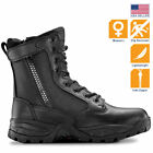 Maelstrom TAC FORCE 8 Tactical Police Duty Military Boots with Zipper