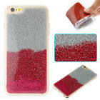 Glitter powder Glued Shine sparkly Bling soft Plastic TPU back cover phone case