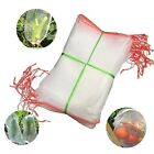 Agfabric Insect Screen Garden Netting Bags against Bugs/Birds/ Squirrels White