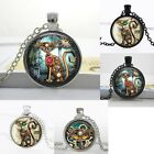 Uk Steampunk Cat Pendant Necklace Mechanical Dials Jewellery Gift Idea Gothic