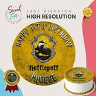 HARRY POTTER - HUFFLEPUFF EDIBLE BIRTHDAY CAKE TOPPER DECORATION PERSONALISED