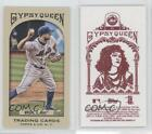 2011 Topps Gypsy Queen Mini Red Back 21 David Wright New York Mets Baseball Card