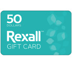 Rexall Gift Card $25 or $50 - via email delivery <br/> CA Only. May take 4 hours for verification to deliver.