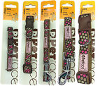 PetFace PINK DOTS DESIGN - Leads and Collars - Various Sizes