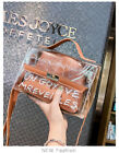 Fashion Women's PU Transparent Shoulder Bag Jelly Summer Beach Handbag Tote NEW
