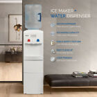 2in1 Electric Water Dispenser Hot / Cold Ice Maker Machine Safety Lock, 3 Colors photo
