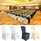 100 Universal Chair Covers Stretch Spandex for Wedding Party Banquet Hotel Decor