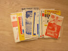Mansfield Town AWAY Programmes 1962/63 to 1966/67