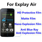 3pcs For Explay Air High Clear/Matte/Nano Explosion/Anti Blue Ray Screen Film