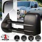 [Left]Driver Side Power+Heated Extendable Towing Mirror for 07-14 Sierra/Yukon