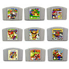 N64 Spiele Super Mario Mario Kart Party 1 2 3 Smash Bros Paper Golf Tennis