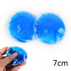 1Pc Round Reusable Ice Cold Hot Gel Pack Therapy Microwaveable Heat Pain ZJM