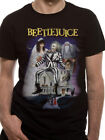 Beetlejuice T-Shirt - Vintage Style Print - New and Official *Tim Burton*