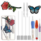 Embroidery Stitching Needle Punch Pen Kit Thread Magic DIY Sewing Craft Tool Set