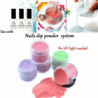 Dipping Powder Without Lamp Cure Natural Quick Dry Nail Art Accessories Gift