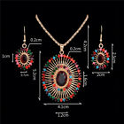 Woman Gold Plated Crystal Pendant Chain Necklace Earrings Jewelry Sets 30 Styles <br/> 1300+Sold,0.99,Cheap,40 Styles,BUY 1, GET 1 AT 10% OFF