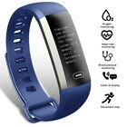 FitCloud Pro Blue Smart Watch Wristband Fitness Bracelet For iOS & Android